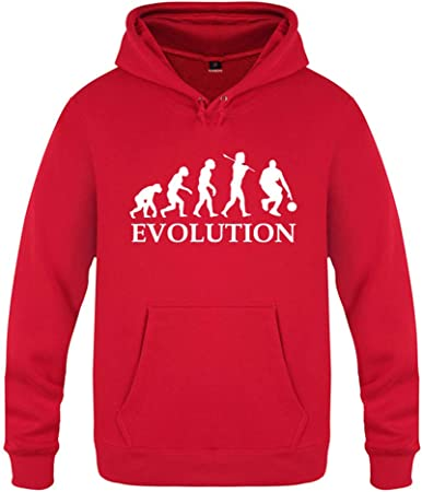 SU Sweat à Capuche Hommes Basketball Evolution de l'homme