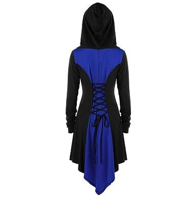 FNKDOR Chaudes Femmes Manteau Slim fit Trench-Coat Capuche Veste Épaise  Manches Longues avec Ourlet 50c18602588