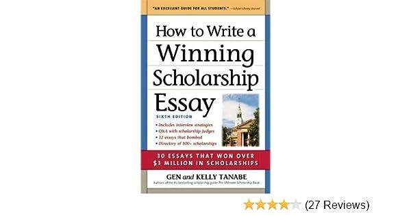 write essay for scholarship