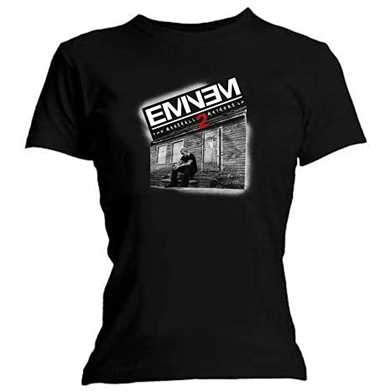 Eminem Tape Cassette Poster Slim Shady Rap Music Official Mens Grey T-shirt