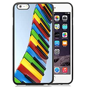 NEW Fashion Custom Designed Cover Case For iPhone 6 Plus 5.5 Inch Piano Abstract Black Phone Case