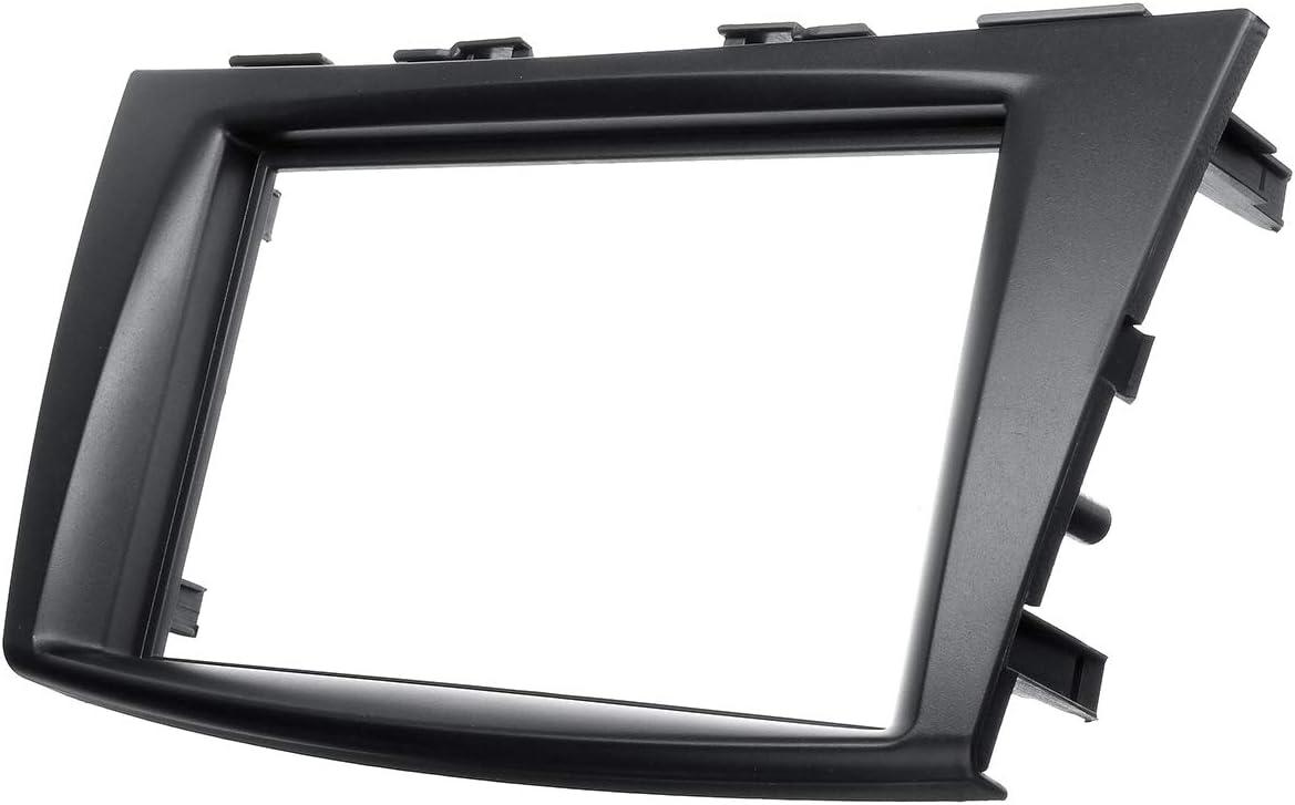 Wooya Car Dashboard Stereo Radio Fascia Panel with Plate Frame Adapter For Suzuki Swift 2011-2016