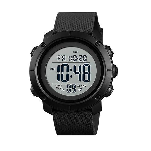 Reloj Deportivo Digital para Hombre, Resistente al Agua, para niños: Amazon.es: Relojes