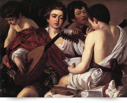 Caravaggio The Musicians (Giclee Art Print), Leo KL