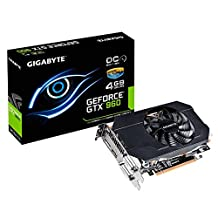 Gigabyte GTX 960 Mini ITX Overclocked 4GB GDDR5 Graphics Cards GV-N960IXOC-4GD