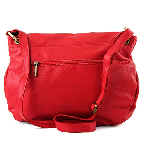 femme bandoulière Italy Made pour Sac Rouge w8qrYIIEdx
