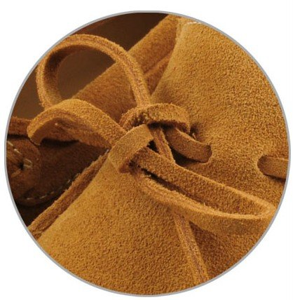 Happyshop (tm) Mocassini Uomo Scarpe Casual In Pelle Scamosciata Comfort Slip-on Nappa Scarpe Da Guida Mocassino (eur 38, Terra Gialla)