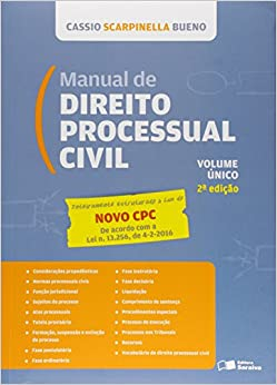 Manual de Direito Processual Civil: Lei N¼ 13.105, de 16.03.2015 - Volume unico