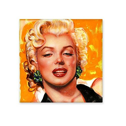 Marilyn Monroe Old Movie Sexy Picture Design Watercolour Painting Illustration Pattern Ceramic Bisque Tiles for Decorating Bathroom Decor Kitchen Ceramic Tiles Wall Tiles 85%OFF