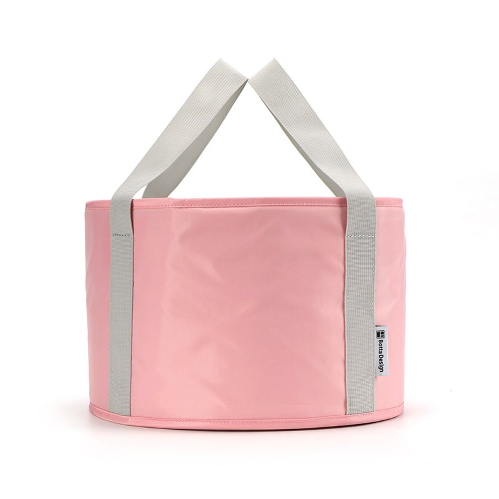 Folding Wash Basin Portable Travel Outdoor Foot Soak Bucket Heat Preservation Waterproof SL
