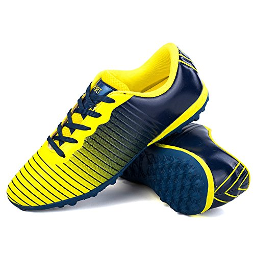 8de5c200e21 YING LAN Men s Boy s Turf Cleats Soccer Athletic Football Outdoor Indoor  Sports Shoes TF Color