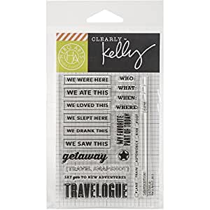 Hero Arts Kelly's New Adventures Clear Stamp Set