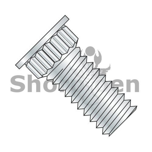 Broaching Type Clinch Stud F/T Phosphor Bronze Electro Tin Plate 6-32 x 3/8 BC-0606SBKFH (Box of 4000) weight 5.44 Lbs