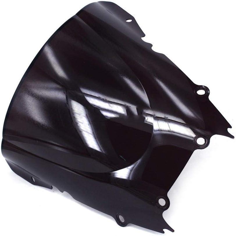 Color : Black Windschutzscheibe Windschutzscheibe for Yamaha YZF 600 YZF R6 YZF600 YZF-R6 1998-2002 1998 1999 2000 2001 2002 Motorrad F/ür Motorr/äder