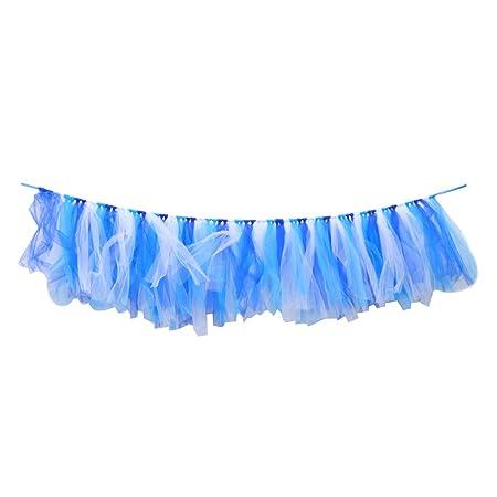 Falda de tutú azul bebé del 1er cumpleaños para la ...