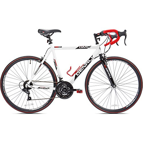 700c GMC Denali Men's Bike 25″, White-Red