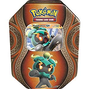 lively moments Naipes de Pokemon Caja de Lata Marshadow ...