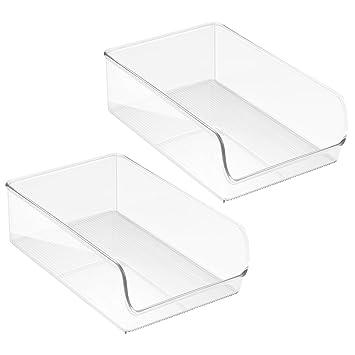 Küchen Aufbewahrungsbehälter interdesign linus aufbewahrungsbehälter großer küchen organizer aus
