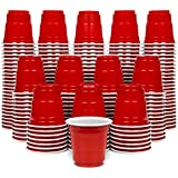 GoPong 2oz Plastic Shot Cups - Pack of 200, Disposable Mini 2oz Party Cups