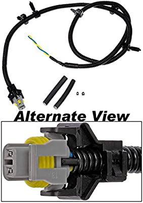 apdty 081158 abs anti lock brake wiring harness pigtail connector fits  2000-2005 pontiac grand prix front left (driver-side) 2006-2008 grand prix  front left