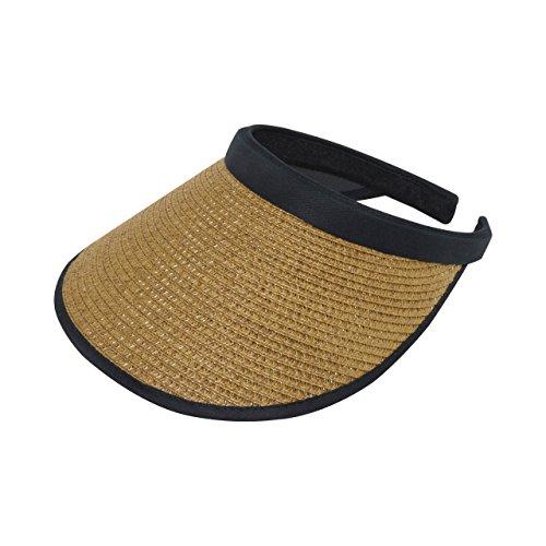 MG Women's Toyo Braid Clip-On - Wide Braid Toyo Hat