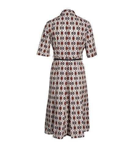 Braunem Muster Kleid FEE LA Hemblusen 795 MARABOUTEE Damen Original mit xCqfYZwOI0