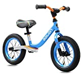 SpringBuds Kids Balance Bike with Footrest No Pedal for Ages 2-6 Years Old