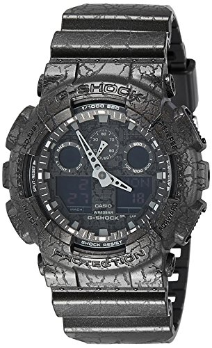 Ga100-1a1 G-shock X-large Black Ana Digi Dial Resin Strap Men Watch New