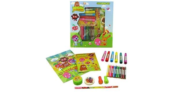 Moshi Monsters Set para colorear (tamaño pequeño): Amazon.es ...