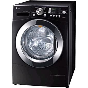 lg f1403yd6 8kg 1400spin freestanding black washer dryer. Black Bedroom Furniture Sets. Home Design Ideas