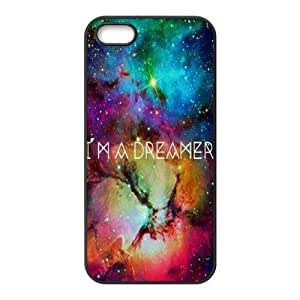 Galaxy Space Universe The Unique Printing Art Custom Phone Case for Iphone 5,5S,diy cover case ygtg553015