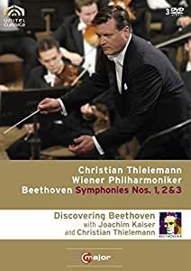 Discovering Beethoven: Symphonies Nos 1 2 & 3 [Import]