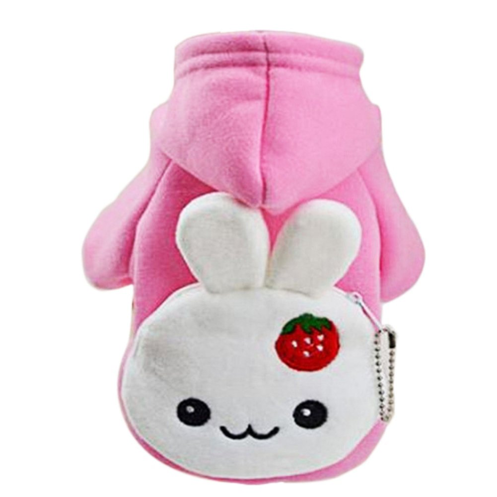 Dimart 2016 Fashion Warm Winter Hoodies Fashion Winter Cloth with Little Rabbit Coin Purse Pocket S