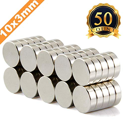 FINDMAG 50Pieces 10X3mm Premium Brushed Nickel Pawn Style Magnetic Push Pins,Fridge Magnets, Office Magnets, Dry Erase Board Magnetic pins, Whiteboard Magnets,Refrigerator Magnets (Collar White Calendar)