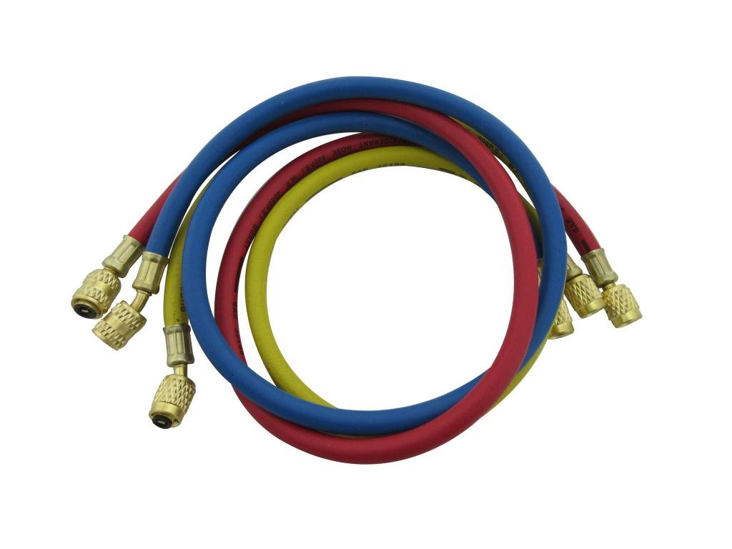 Harpow Air Conditoning System 1/4'' Standard Charging Hose Flexible Hose by Harpow Tools
