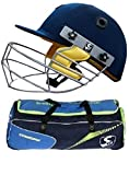 SG Combo of -two one Cricket 'Combopak' kit bag and one 'Smartech' helmet (Men)- Cricket Kit