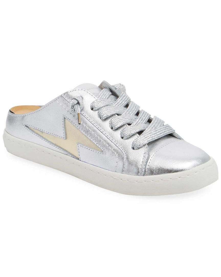 Dolce Vita Z Bolt Metallic Low-Top Sneaker, 9.5