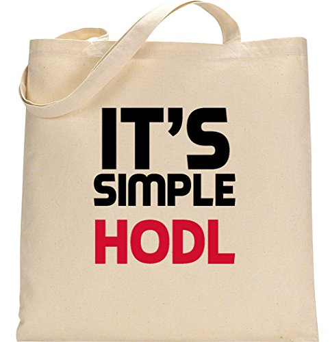 Courses tout Nothingtowear de Coton Simple Fourre en Organique Hodl Dope Crypto It's Sac Slogan 8vxq8T1r