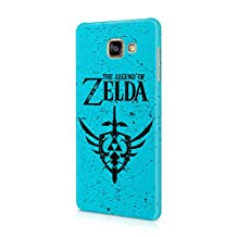 The Legend Of Zelda Blue Logo Hard Plastic Snap-On Case Cover For Samsung Galaxy A5 2016