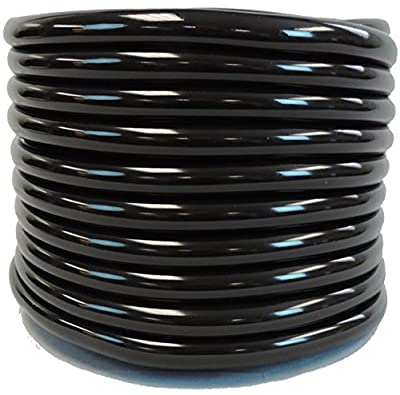 Best Cheap Deal for 1/2 ID x 3/4 OD x 100 Feet Hydromaxx Flexible PVC Black Vinyl Tubing. BPA Free and Non Toxic from MaxxFlex - Free 2 Day Shipping Available