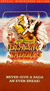 Blazing Saddles [VHS]