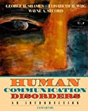 img - for Human Communication Disorders: An Introduction book / textbook / text book