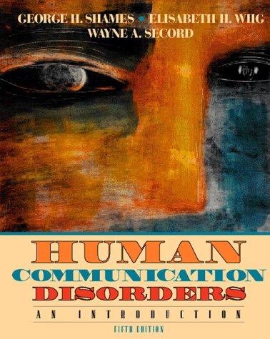 Books : Human Communication Disorders: An Introduction