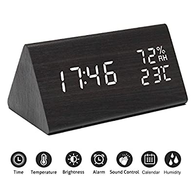 Digital Alarm Clock with 3 Settings and Snooze