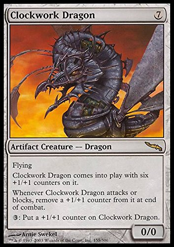 Magic: the Gathering - Clockwork Dragon - Mirrodin