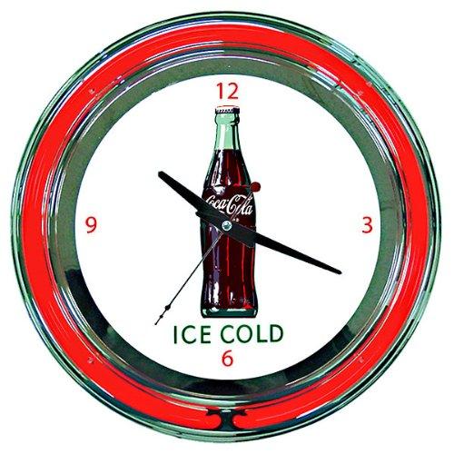 Case Neon Wall Clock (Coca-Cola