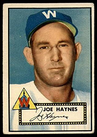 1951 Bowman #240 Joe Haynes PSA 7 NM Washington Senators Baseball Card
