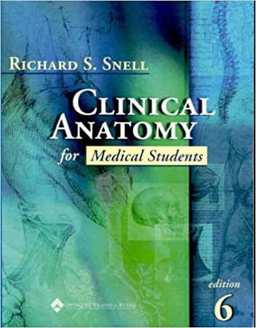 Clinical anatomy for medical students 9780781715744 medicine clinical anatomy for medical students sixth edition fandeluxe Images