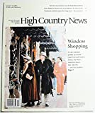 img - for High Country News, Volume 36 Number 20, October 25, 2004 book / textbook / text book