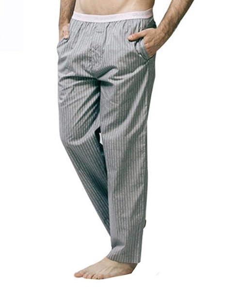 BOLAWOO Pijamas De Hombre para Hombres Pantalones Traje De ...